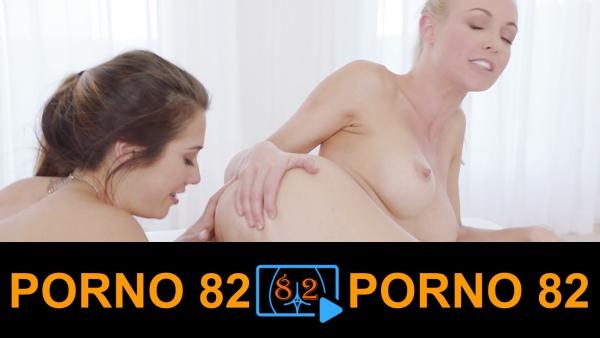 Sevgilisine anal atak yapan lezbiyen